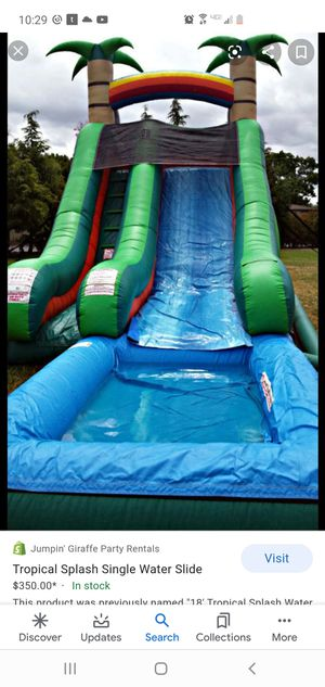 Looking to rent a waterslide for Sale in Fresno, CA