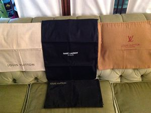GARMENT BAGS, VUITTON, LAURENT for Sale in Los Angeles, CA