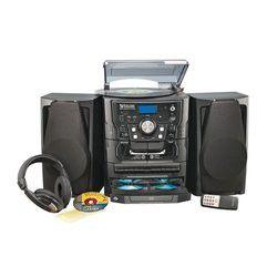 AVGO Stereo w/Turntable and Headphones for Sale in Spokane, WA