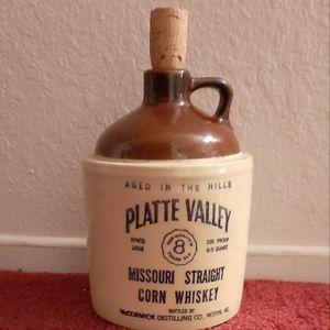 McCormick Platte Valley Missouri Straight Corn Whiskey Jug for Sale in Ontario, CA
