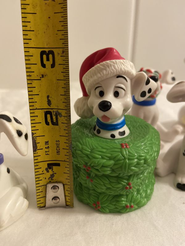 Vintage Dalmatian Holiday Figurines & Christmas ornament