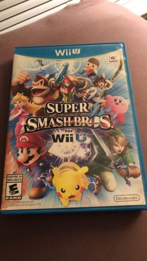 Super Smash Bros. for Wii U in perfect condition! for Sale in Portland, OR