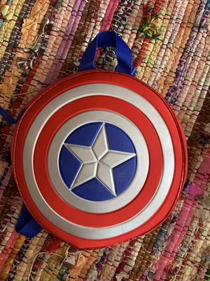 Captain America shield backpack, marvel, super heroes for Sale in Gresham, OR