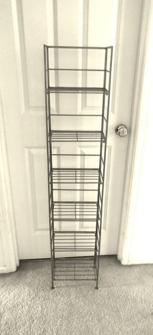 DVD shelf rack storage for Sale in Issaquah, WA