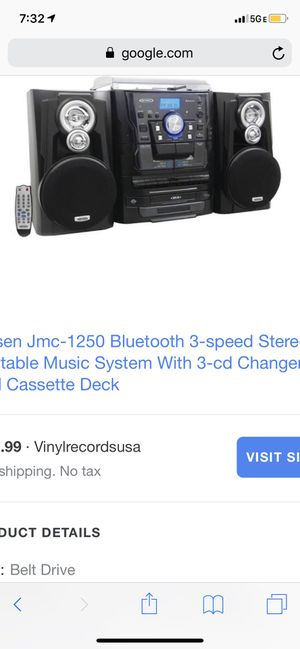 Brand new Jensen stereo system for Sale in Bakersfield, CA