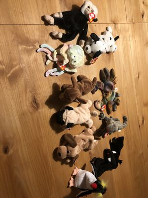 Lot of assorted TY beanie babies for Sale in Sandy Springs, GA