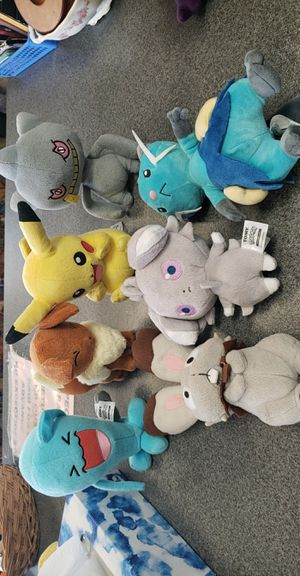 Pokemon Plushies for Sale in Edgewater Park, NJ