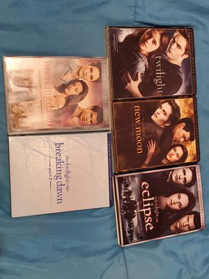 Full twilight movie series for Sale in New York, NY