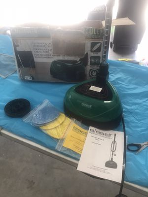 Bissell big green commercial floor scrubber for Sale in Berenda, CA