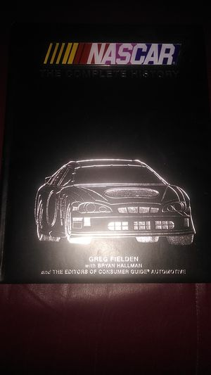 The book NASCAR the complete history for Sale in Spring, TX