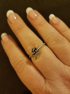 Last 4! Sterling Silver Rose Ring for Sale in Knoxville, TN