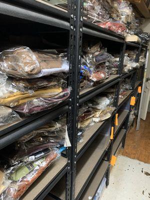 Metal shelves/ racks for Sale in Richardson, TX