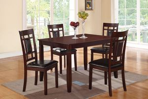5PCs Dining Set (Table + 4Chairs)🎈🍁🎈 for Sale in Fresno, CA