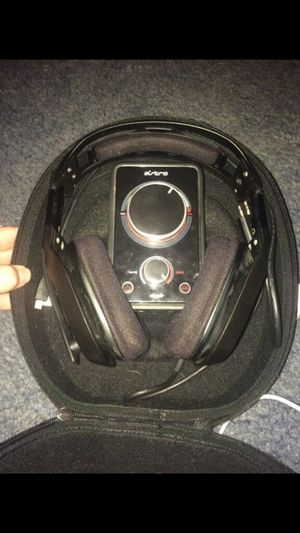 Astro a40 headset with mixer and case. Price negotiable for Sale in Morganfield, KY
