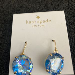 Kate Spade New York WBRUD546001 French Wire Drop Earrings, Blue for Sale in Mission Viejo, CA