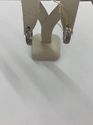 14KT WG Earrings for Sale in Dallas, TX