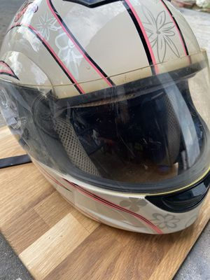 Motorcycle helmet adjustable face large for Sale in Cerritos, CA