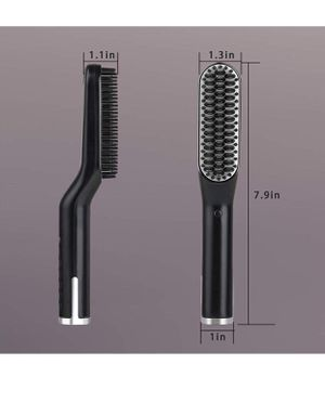 Beard Straightener, Easkep 3 in 1 Best Ceramic Beard Straightening Brush Three Modes Adjustable Temperature Anti-scald Technology Multi-function Hair for Sale in Upland, CA