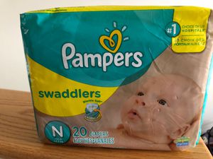 Newborn diapers size N for Sale in Canton, MA