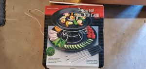 Smoke-free tabletop Grill for Sale in Newton, NJ