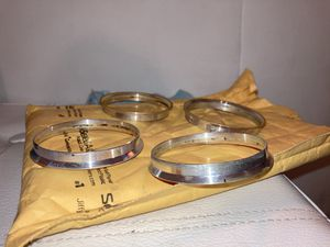 66.1 to 64.1 hub rings adapts Nissan/infinity rims to Honda/Acura for Sale in Cotati, CA