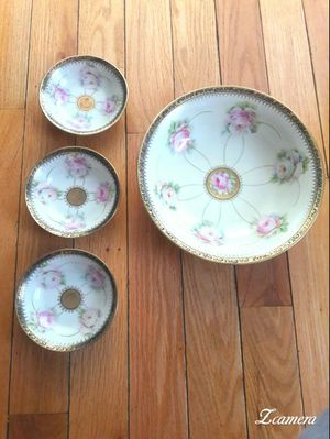 Antique Bavaria hand painted China bowls for Sale in Woburn, MA