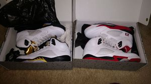 """AIR JORDAN 5 RETRO """"Olympic Gold"""" & """"Fire Red"""" 🔥 for Sale in Baltimore, MD"""