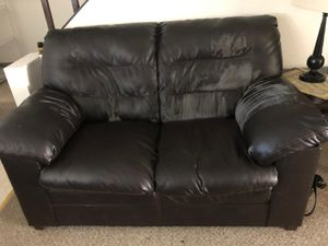 Black Couch FULL Set for Sale in Bellevue, WA