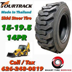 15-19.5 14PR Skid Steer / Backhoe : Bobcat Tire for Sale in Riverside, CA