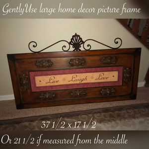 Gently use large indoor or outdoor frame $45 firm for Sale in Laveen Village, AZ