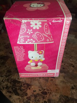 Hello kitty lamp Firm for Sale in Glendale, AZ