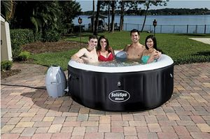 Bestway SaluSpa Miami Inflatable Hot Tub, 4-Person AirJet Spa for Sale in Fairless Hills, PA
