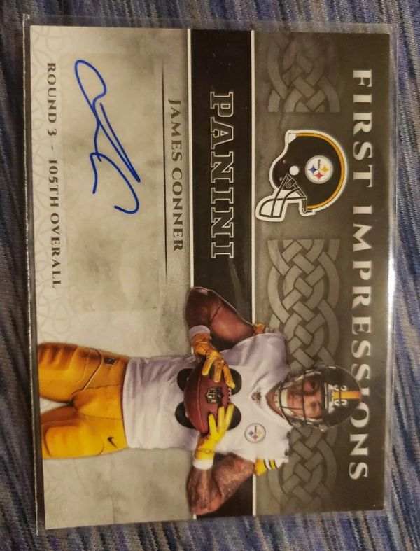 Panini First Impressions James Conner Rookie Autograph