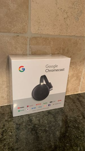 New Google Chromecast, never opened for Sale in Friendswood, TX