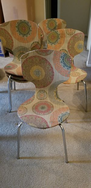 Set of Six Pottery Barn Upcycled Chairs & Table for Sale in Woodbridge, VA