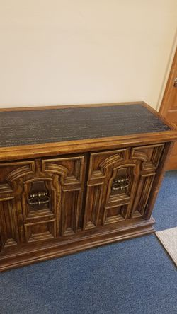 Stone top bar cabinet for Sale in Denver,  CO