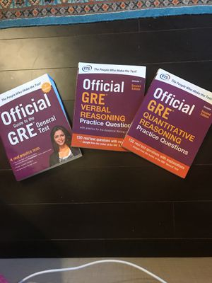 ETS the official guide to the GRE for Sale in Arlington, VA