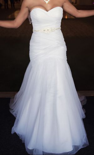 Wedding Dress Size 4 for Sale in Springfield, VA