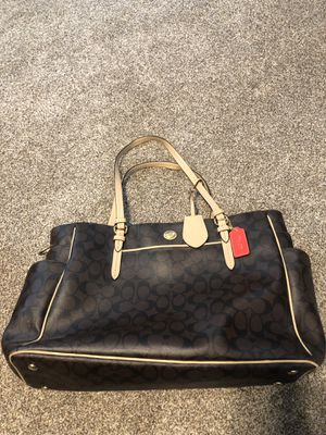 Large coach bag / diaper bag / tote for Sale in Dickinson, TX