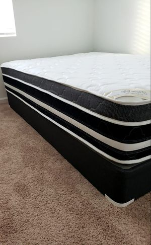 NEW Pillowtop QUEEN mattress, & BOX spring. Bed frame not included on offer for Sale in West Palm Beach, FL