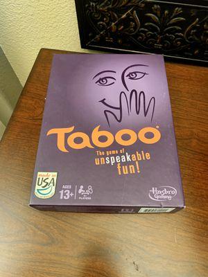 Hasbro Game Taboo for Sale in Clovis, CA