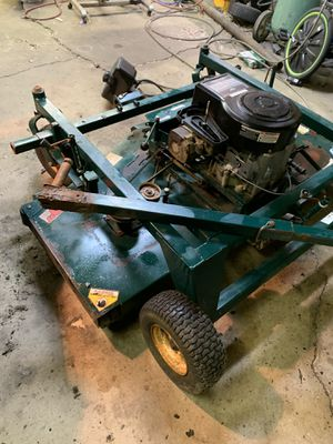 60 inch swisher pull behind mower for Sale in Pleasant Hill, IA