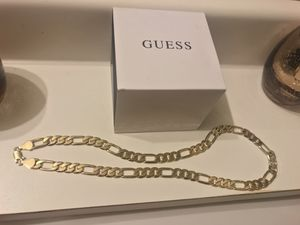 Guess watch plus gold plated chain for Sale in Phoenix, AZ
