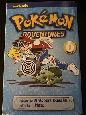 Pokemon Adventures Vol.1 Manga Hidenori Kusaka for Sale in Charlottesville, VA