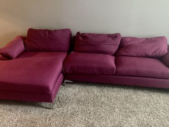 Purple Sectional Couch for Sale in Houston,  TX