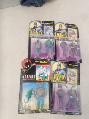Batman action figures original for Sale in Darnestown, MD