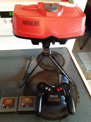 Nintendo Virtual Boy an Game's for Sale in Snohomish, WA