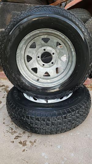 2 tires tomaster for trailer for Sale in Las Vegas, NV