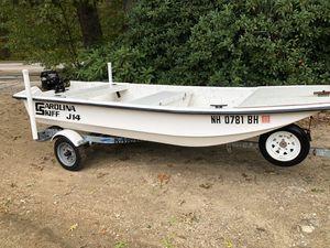 01 Carolina skiff J14 for Sale in Exeter, RI