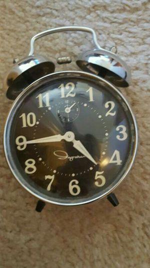 Vintage Ingraham double bell twist alarm clock for Sale in Las Vegas, NV